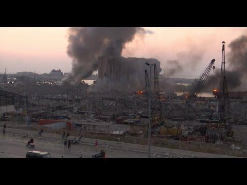 EN VIVO: Se registra una fuerte explosión que sacude Beirut, capital de Líbano ?