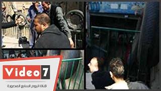 بالفيديو.. حملة بأوسيم أعلى محور روض الفرج الجديد لإزالة لتعديات