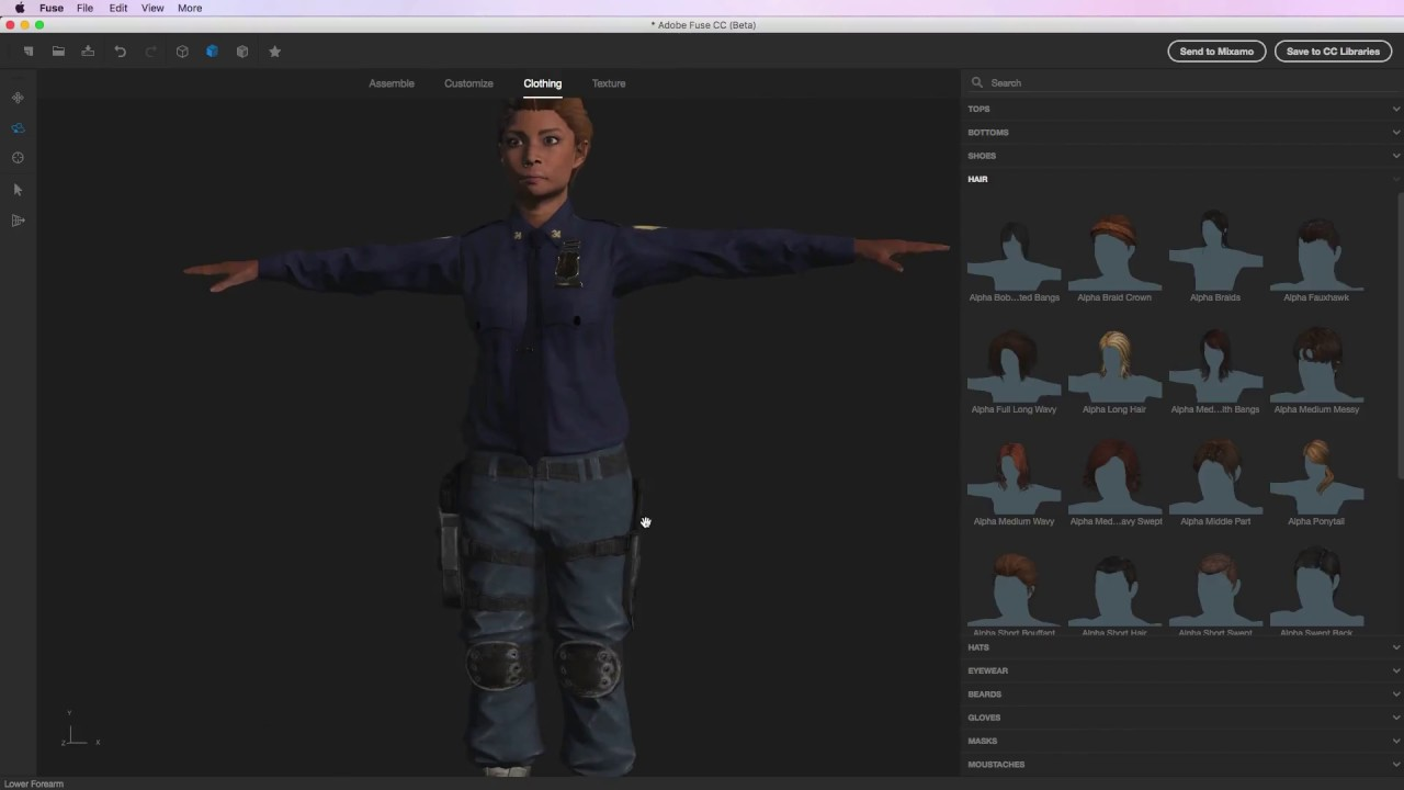 Creating & Animating a 3D Character with Fuse, Mixamo and Unity Part 1: Fuse