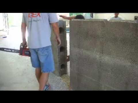 Apex block corner installation green home building leed for Apex block homes