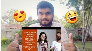 Pakistani Reaction on Zara Noor aAbbass's interview with Voice Over Man   vlog 23  