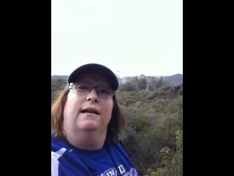 Backbone hike Biggest Loser Resort Fitness ridge Malibu