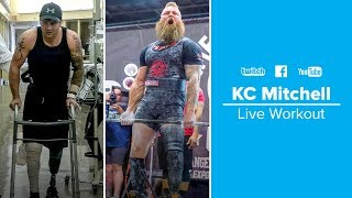 Combat Wounded Veteran & Powerlifter KC Mitchell