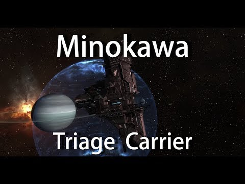Minokawa - Caldari Force Auxiliary Carrier - EVE Online
