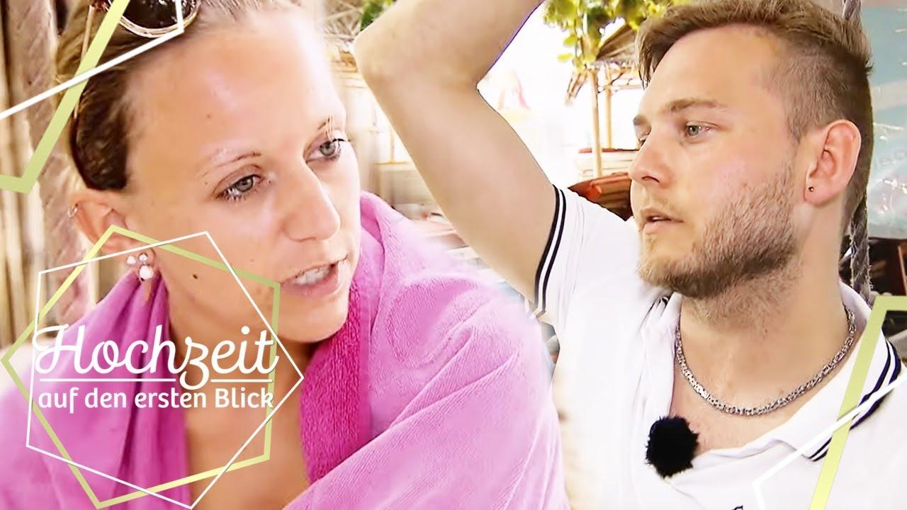 Christina Marcel Sie Mochte Nicht Bei Ihm Einziehen Hochzeit Auf Den Ersten Blick Sat 1 Youtube