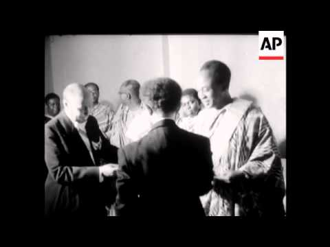 DR NKRUMAH And EMPEROR HAILE SELASSIE