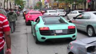 Montreal F1 Grand Prix Weekend - Vitesse, F12s, Aventador, etc