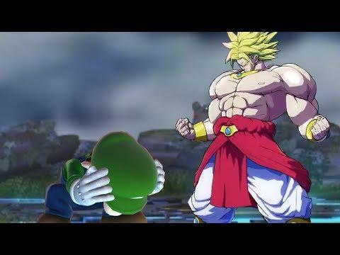 も�もブロリー�スマブラ��戦�よ����ら Broly Battle in Super Smash Bros.�DBMAD】