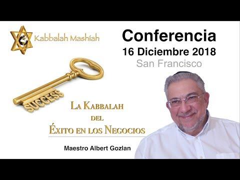 Albert Gozlan: Conferencia el próximo 16 Diciembre 2018, La Kabbalah del Éxito en los Negocios