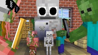 Monster School : Minecraft Earth 3D - Minecraft Animation