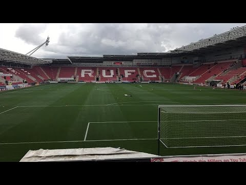 Rotherham United Vs Bury - Match Day Experience