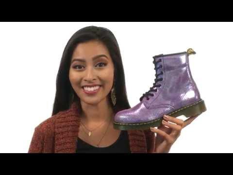 Dr. Martens Kid's Collection Delaney Boots (Big Kid) SKU:8731366