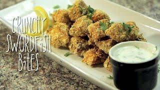 Crunchy Swordfish Bites   Rule Of Yum Recipe