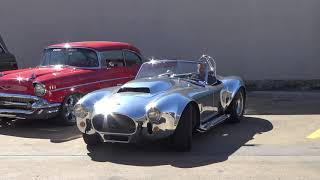 TWIN SUPERCHARGED CAMMER 427 SOHC 1965 Shelby Cobra Kirkham