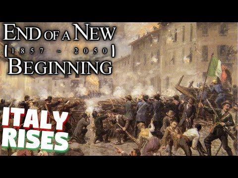 HOI4 End of a New Beginning: RISORGIMENTO (Unification of Italy)