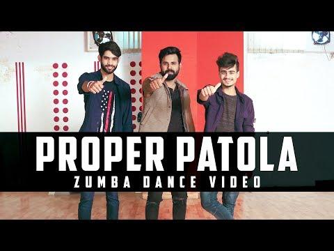 Proper Patola | Zumba Dance Choreography 2018 | Namaste England | Badshah | Zumba On Bollywood Songs