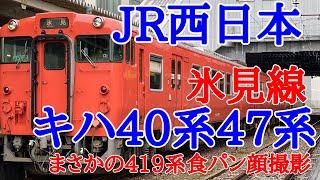 【JR西日本】氷見線キハ40系47系に乗って来ました!