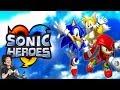 🔴 SONIC HEROES : Un des derniers BONS SONIC en 3D ! (Coup De Vieux)
