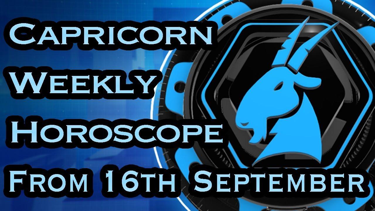 capricorn october 18 2019 weekly horoscope