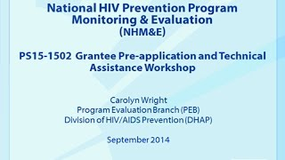 National HIV Prevention Monitoring and Evaluation