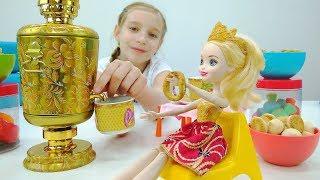 Эвер Афтер Хай - Готовимся к чаепитию - Видео для девочек
