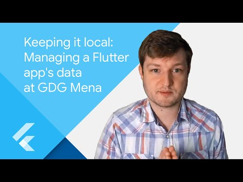 Keeping it local: Managing a Flutter app's data