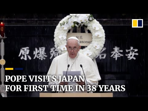 Pope Visits Japan For First Time In 38 Years