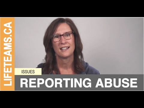ISSUE: Reporting Abuse