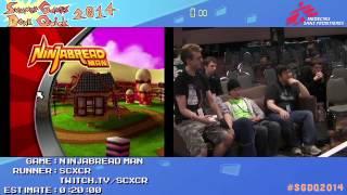 Summer Games Done Quick 2014 - Part 79 - Ninjabread Man