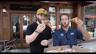 Barstool Pizza Review - Nick's Pizza With Special Guest Bryce Harper (Bonus Hair Flip)