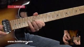 Sucker Train Blues - Velvet Revolver - Guitar Solo Performance With Danny Gill Licklibrary