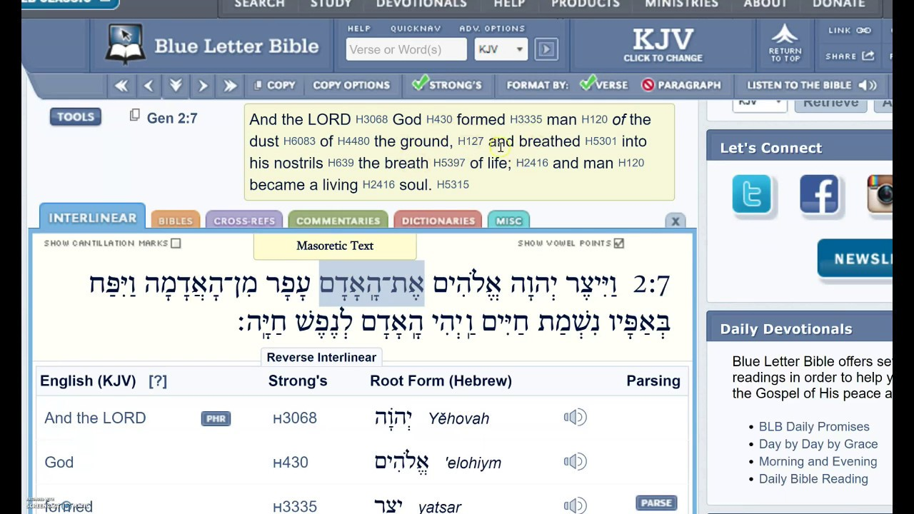 Genesis 2:1 Through 2:8- Eighth Day Man | Strong Bible Study