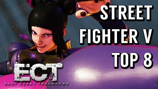Street Fighter V Tournament: ECT 2016 Day 2 - Winners Final, Losers Final, and Top 8 Matches