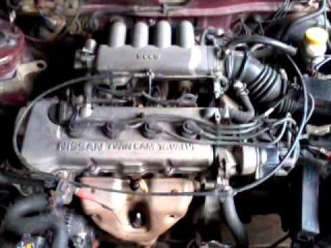 nissan v16 twin cam  YouTube