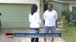 Community helps veteran clean up his home after 63 dead cats were found in his freezer