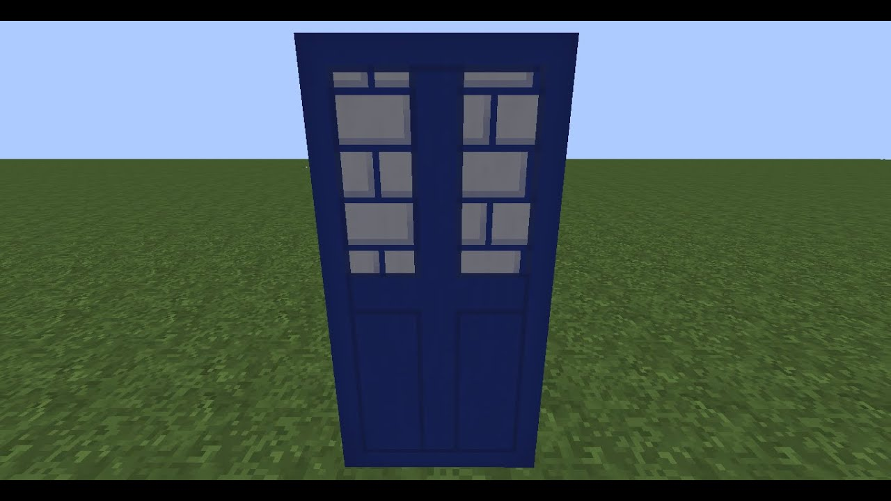 Minecraft TARDIS Banner Tutorial (Step by Step Guide ...