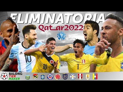 TierMaker - Eliminatorias Sudamericanas Qatar 2022