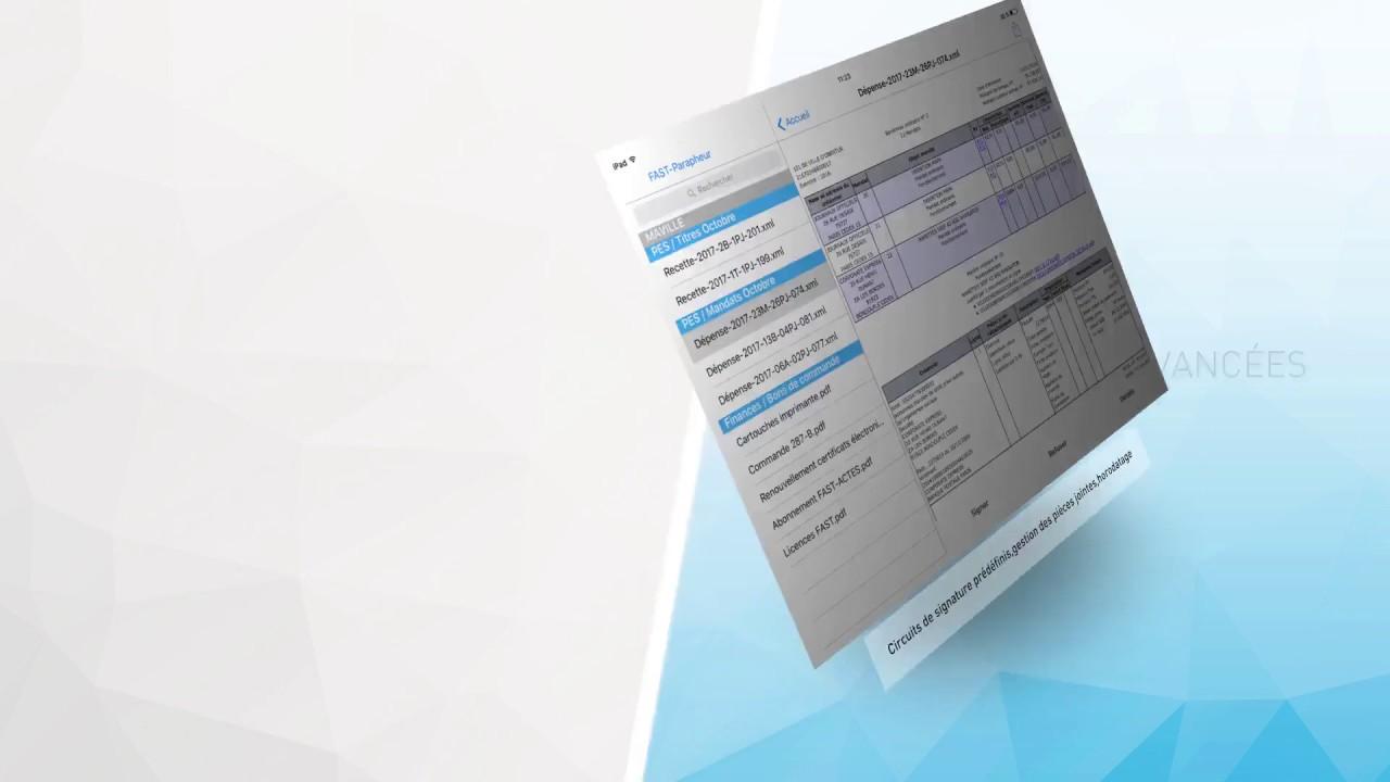 FAST-Parapheur : Signer électroniquement tout vos documents