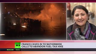 Yellow vests won: France caves into nationwide calls to abandon fuel-tax hike