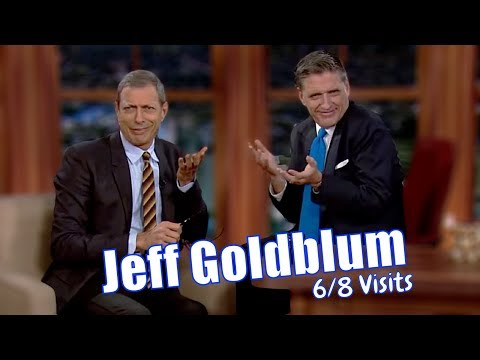 Jeff Goldblum - Goes Into A Drumming Frenzy - 6/8 Visits In Chronological Order [Great Quality]