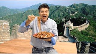 Nejlepší 🈶 čínské  🈶 smažené nudle recept (Chow mein recept)