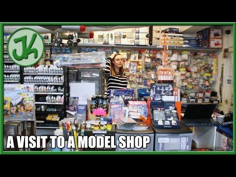 A Visit To A Model Shop - JennyCam 21