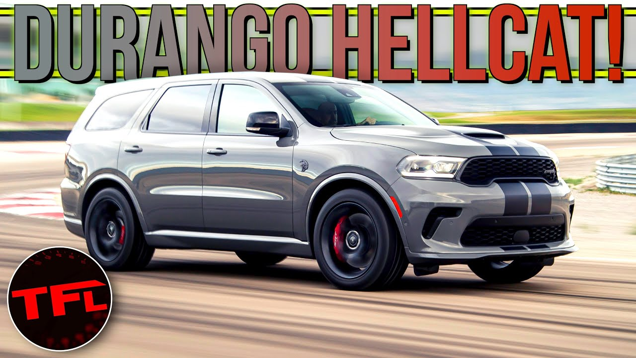 Breaking News: The 2021 Dodge Durango Hellcat Will Catapult Your Family From 0-60 In 3.5 Seconds! - The Fast Lane Car thumbnail