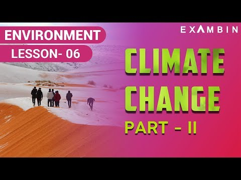 Climate Change Part 02 - Steps taken by Indian Govt to reduce global warming