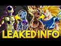 LEAKED INFO FOR SSJ GOKU & FRIEZA! THE MOST BUSTED UNITS IN THE GAME? (DBZ: Dokkan Battle)
