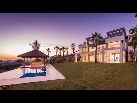 New Luxury Modern Villa in Los Flamingos Golf, Marbella, Spain