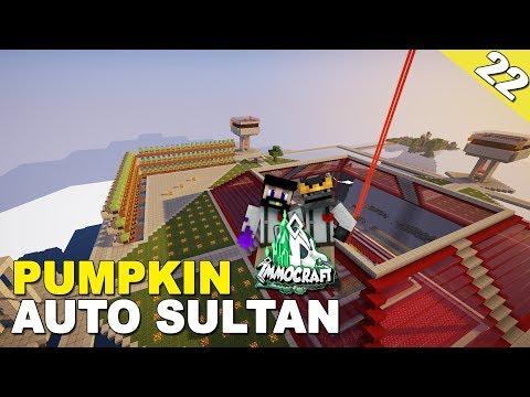 IMMOCRAFT #22 - PUMPKIN FARM SULTAN - Minecraft Survival Indonesia