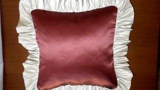 Декоративная подушка своими руками(Оригинальные декоративные подушки не только украсят помещение, но и позволят с комфортом проводить в нем..., 2015-07-19T08:13:27.000Z)