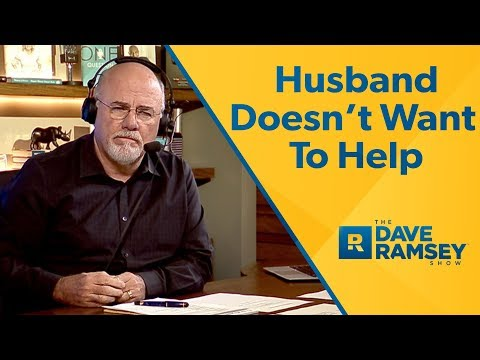 Husband Doesn't Want To Help Me With My Debt