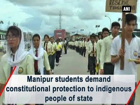 Manipur students demand constitutional protection to indigenous people of state - Manipur News